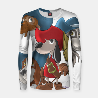 Miniaturka Muskehounds Women sweater, Live Heroes