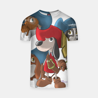 Thumbnail image of Muskehounds T-shirt, Live Heroes
