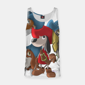 Thumbnail image of Muskehounds Tank Top, Live Heroes