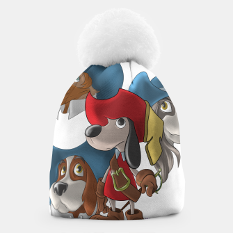 Thumbnail image of Muskehounds Beanie, Live Heroes