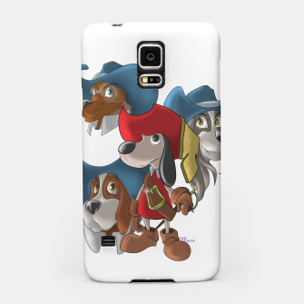 Thumbnail image of Muskehounds Samsung Case, Live Heroes