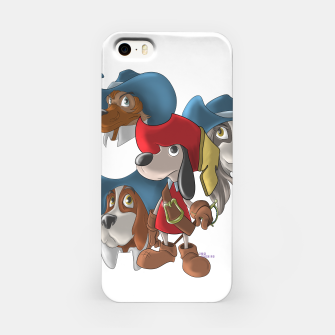 Miniaturka Muskehounds iPhone Case, Live Heroes