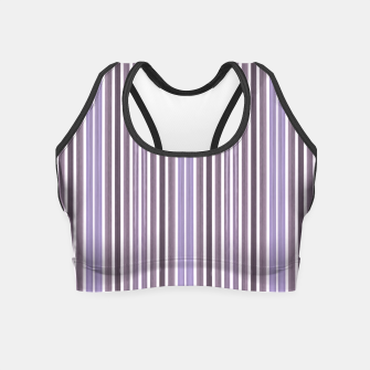 Thumbnail image of Watercolour lines  Crop Top, Live Heroes