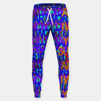 Thumbnail image of Support my artworks Sweatpants, Live Heroes