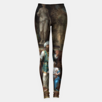 Thumbnail image of The Sacrifice of Iphigenia by Arnold Houbraken Leggings, Live Heroes