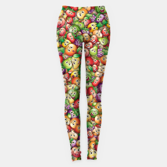 Crazy fruits Leggings miniature