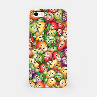 Crazy fruits iPhone Case thumbnail image