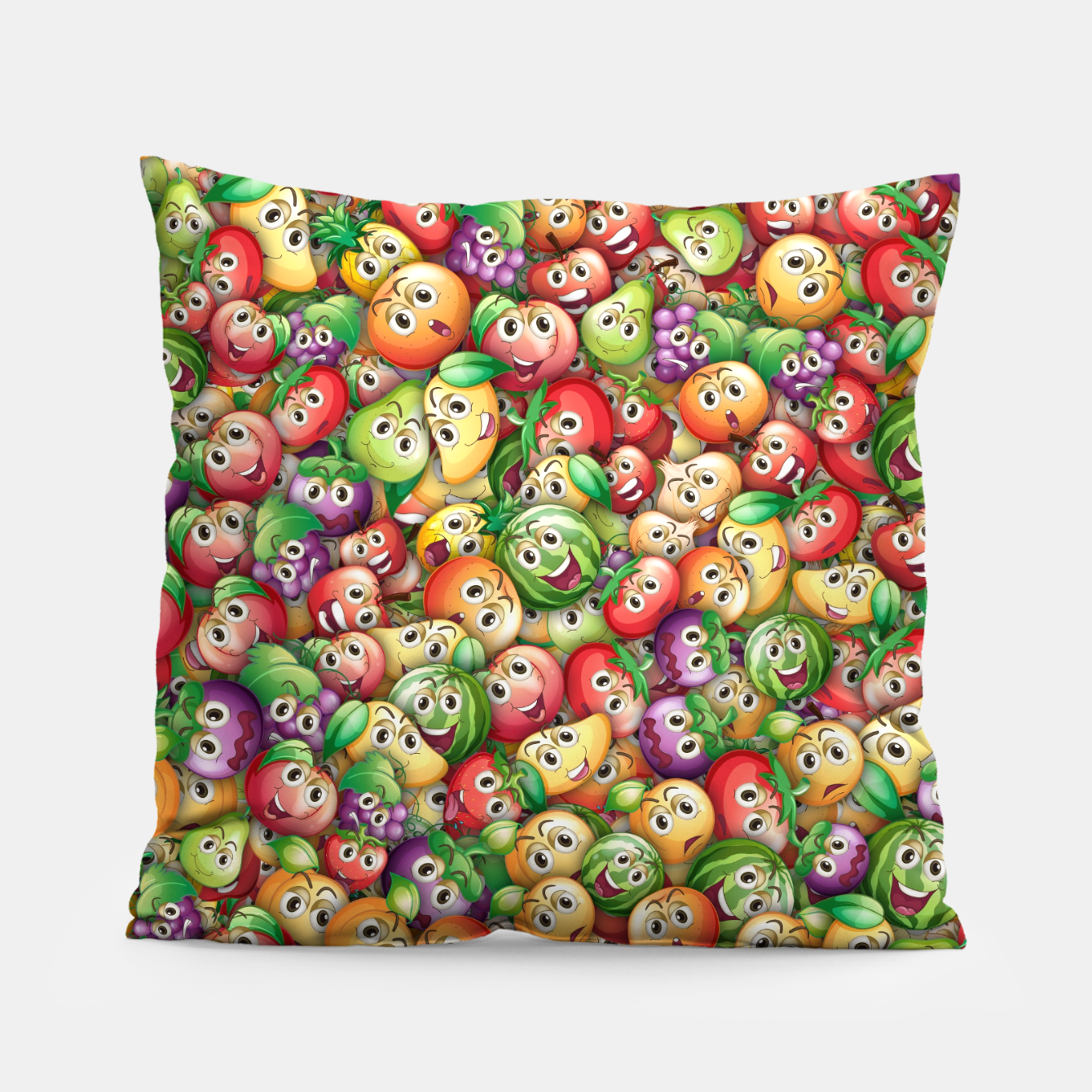 Image of Crazy fruits Pillow - Live Heroes