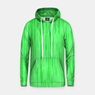 Miniatur Fresh neon green fibers, abstract rainfall, natural colors, forest theme Hoodie, Live Heroes