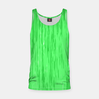 Miniatur Fresh neon green fibers, abstract rainfall, natural colors, forest theme Tank Top, Live Heroes