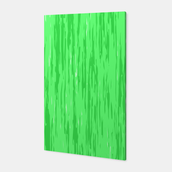 Miniatur Fresh neon green fibers, abstract rainfall, natural colors, forest theme Canvas, Live Heroes