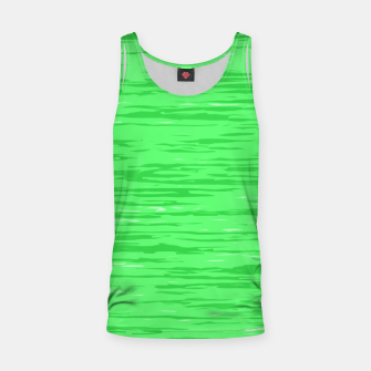 Thumbnail image of Fresh neon green fibers, abstract rainfall, natural colors, forest theme Tank Top, Live Heroes