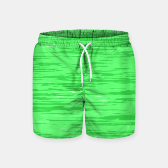 Thumbnail image of Fresh neon green fibers, abstract rainfall, natural colors, forest theme Swim Shorts, Live Heroes
