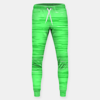 Thumbnail image of Fresh neon green fibers, abstract rainfall, natural colors, forest theme Sweatpants, Live Heroes