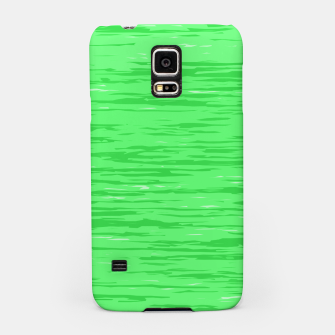 Thumbnail image of Fresh neon green fibers, abstract rainfall, natural colors, forest theme Samsung Case, Live Heroes