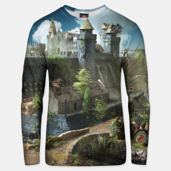 Thumbnail image of Abandoned fortress Unisex sweater, Live Heroes