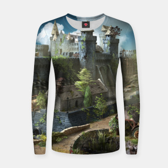 Thumbnail image of Abandoned fortress Women sweater, Live Heroes