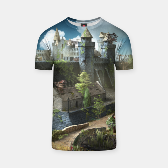 Thumbnail image of Abandoned fortress T-shirt, Live Heroes