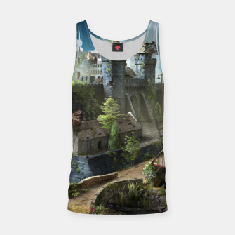 Thumbnail image of Abandoned fortress Tank Top, Live Heroes