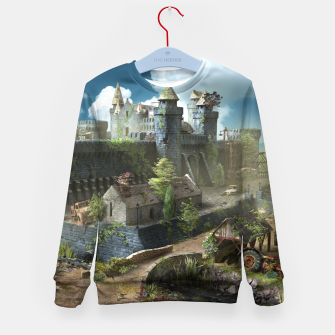Thumbnail image of Abandoned fortress Kid's sweater, Live Heroes