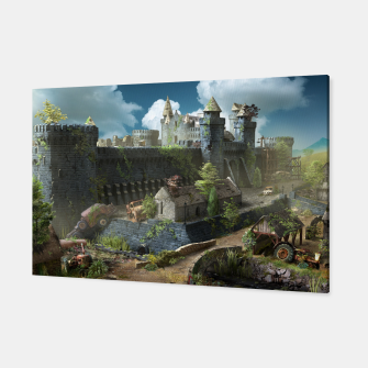 Thumbnail image of Abandoned fortress Canvas, Live Heroes