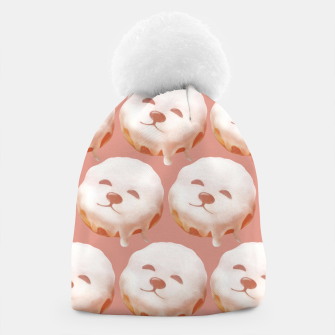 Thumbnail image of Donut Pattern Beanie, Live Heroes
