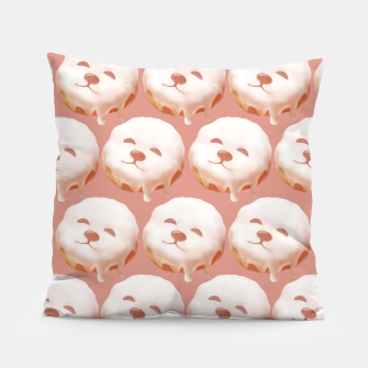 Thumbnail image of Donut Pattern Pillow, Live Heroes