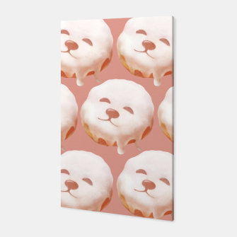 Thumbnail image of Donut Pattern Canvas, Live Heroes