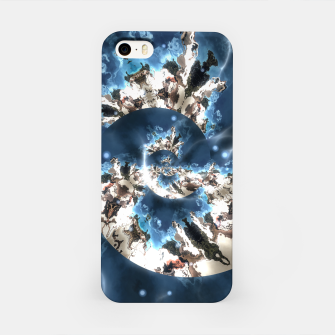 Thumbnail image of Spiral storm digital art iPhone Case, Live Heroes