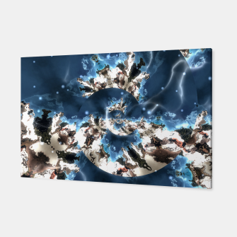 Thumbnail image of Spiral storm digital art Canvas, Live Heroes