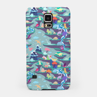 Miniatur Peaceful Time in Fantastic Dino Land Samsung Case, Live Heroes