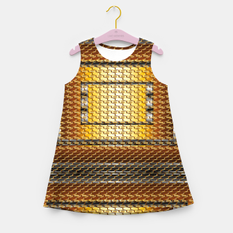 Thumbnail image of Gold armor Girl's summer dress, Live Heroes