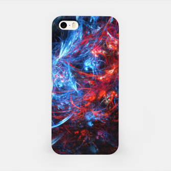 Thumbnail image of Life on the edge digital art iPhone Case, Live Heroes