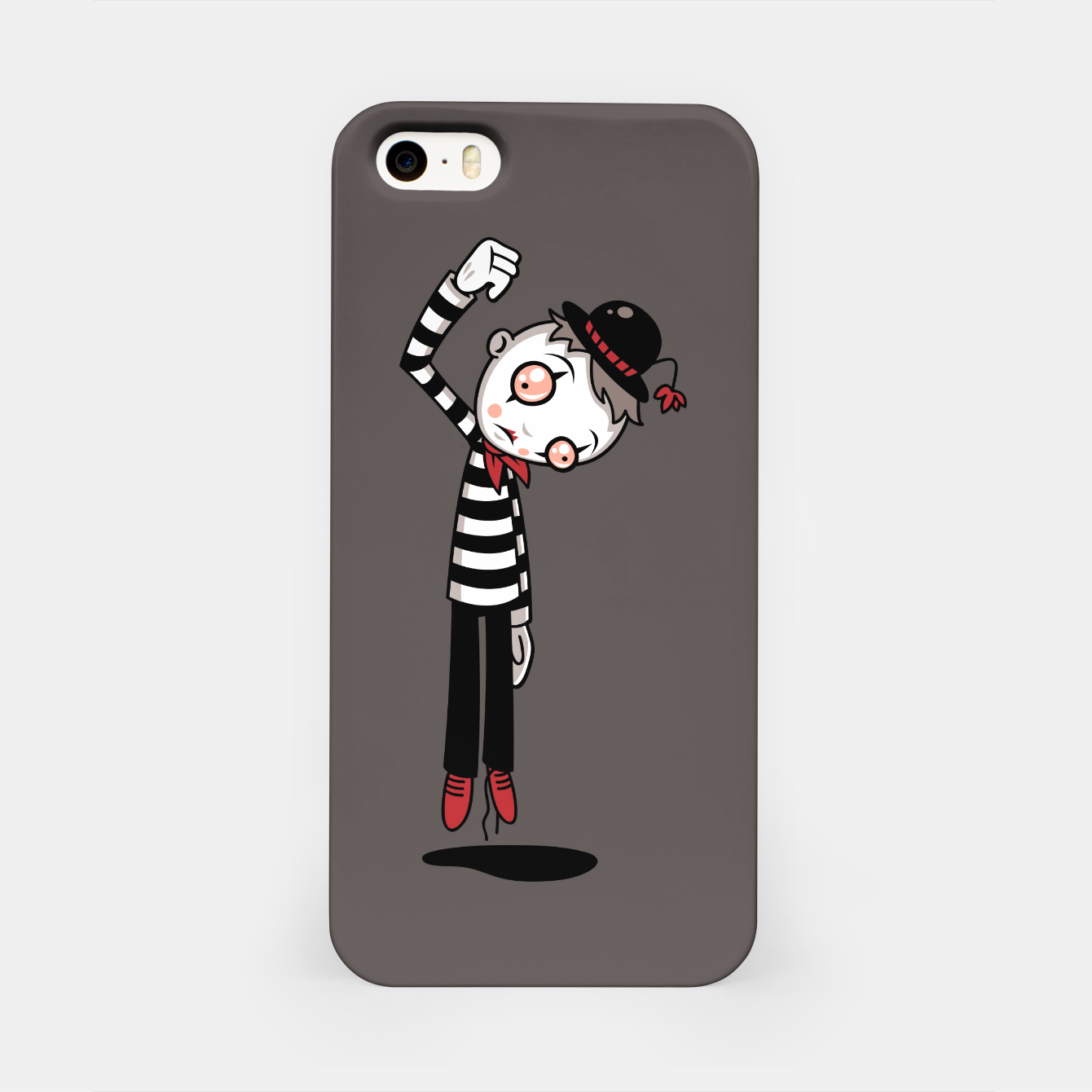 Foto Bestest Mime Ever iPhone Case - Live Heroes