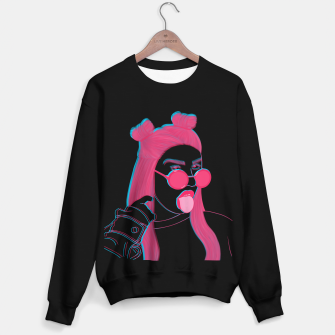 Thumbnail image of Weird girl Sweater regular, Live Heroes