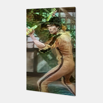 Thumbnail image of Bruce Lee Canvas, Live Heroes