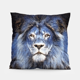 Thumbnail image of Majestic Sparkle Lion Pillow, Live Heroes