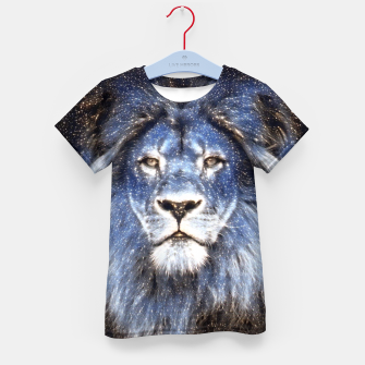 Thumbnail image of Majestic Sparkle Lion Kid's t-shirt, Live Heroes