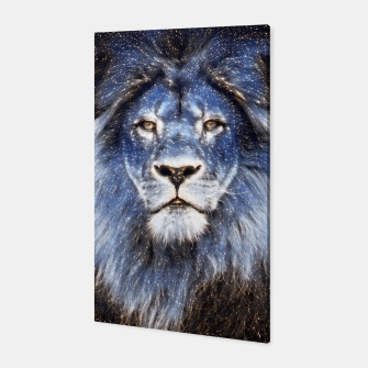 Thumbnail image of Majestic Sparkle Lion Canvas, Live Heroes