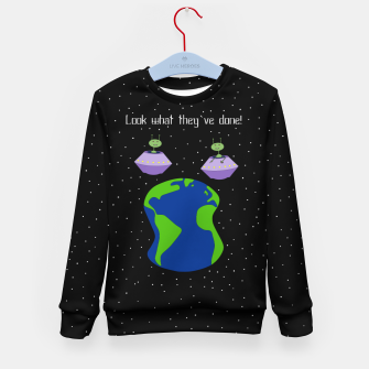 Thumbnail image of Look! Kid's sweater, Live Heroes