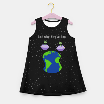 Thumbnail image of Look! Girl's summer dress, Live Heroes