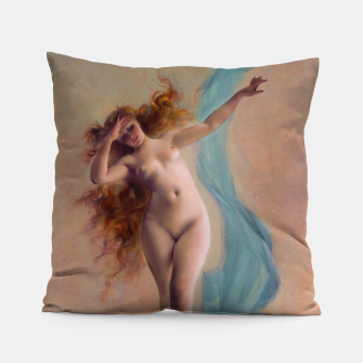 Thumbnail image of Dawn by Luis Ricardo Falero Fine Art Reproduction Pillow, Live Heroes