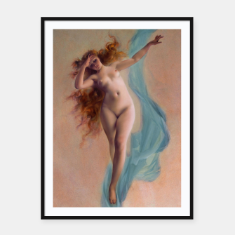 Thumbnail image of Dawn by Luis Ricardo Falero Fine Art Reproduction Framed poster, Live Heroes