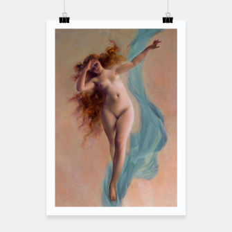 Miniaturka Dawn by Luis Ricardo Falero Fine Art Reproduction Poster, Live Heroes