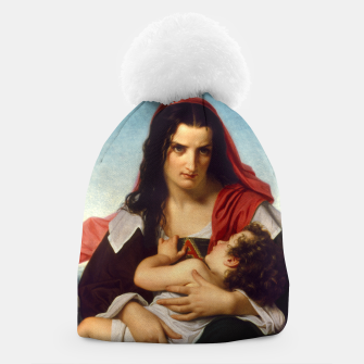 Thumbnail image of The Scarlet Letter by Hugues Merle Old Masters Reproduction Beanie, Live Heroes