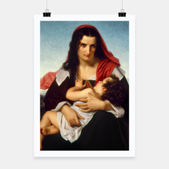 Thumbnail image of The Scarlet Letter by Hugues Merle Old Masters Reproduction Poster, Live Heroes