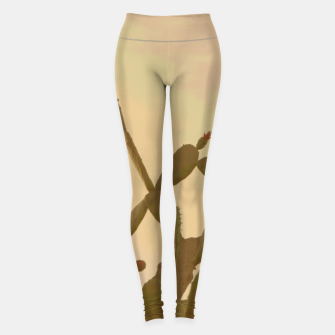 Thumbnail image of Sunset cactus Leggings, Live Heroes