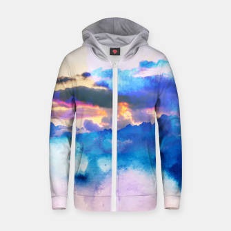 Thumbnail image of Dreamy Nature Zip up hoodie, Live Heroes