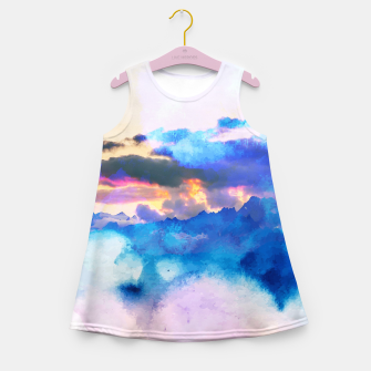 Miniaturka Dreamy Nature Girl's summer dress, Live Heroes