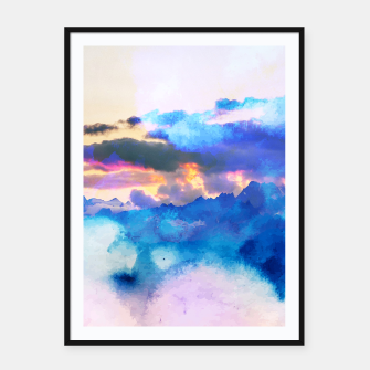 Thumbnail image of Dreamy Nature Framed poster, Live Heroes